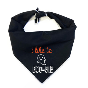 I Like to Boo-gie Dog Bandana