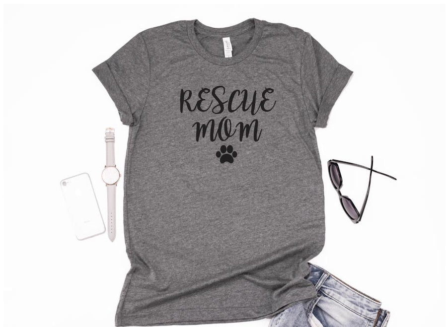 Rescue Mom T-Shirt