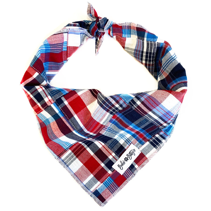 Nantucket Patchwork Dog Bandana