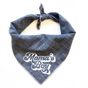 Mama's Boy Dog Bandana