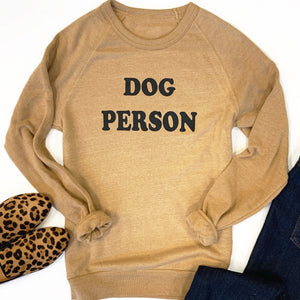Dog Person Eco-Fleece Sweatshirt