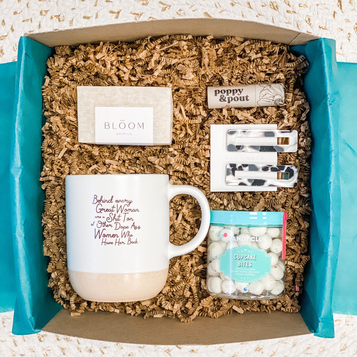 Behind Every Great Woman Gift Box Set - Neutral