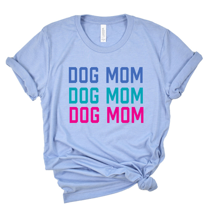 Dog Mom Crewneck T-Shirt