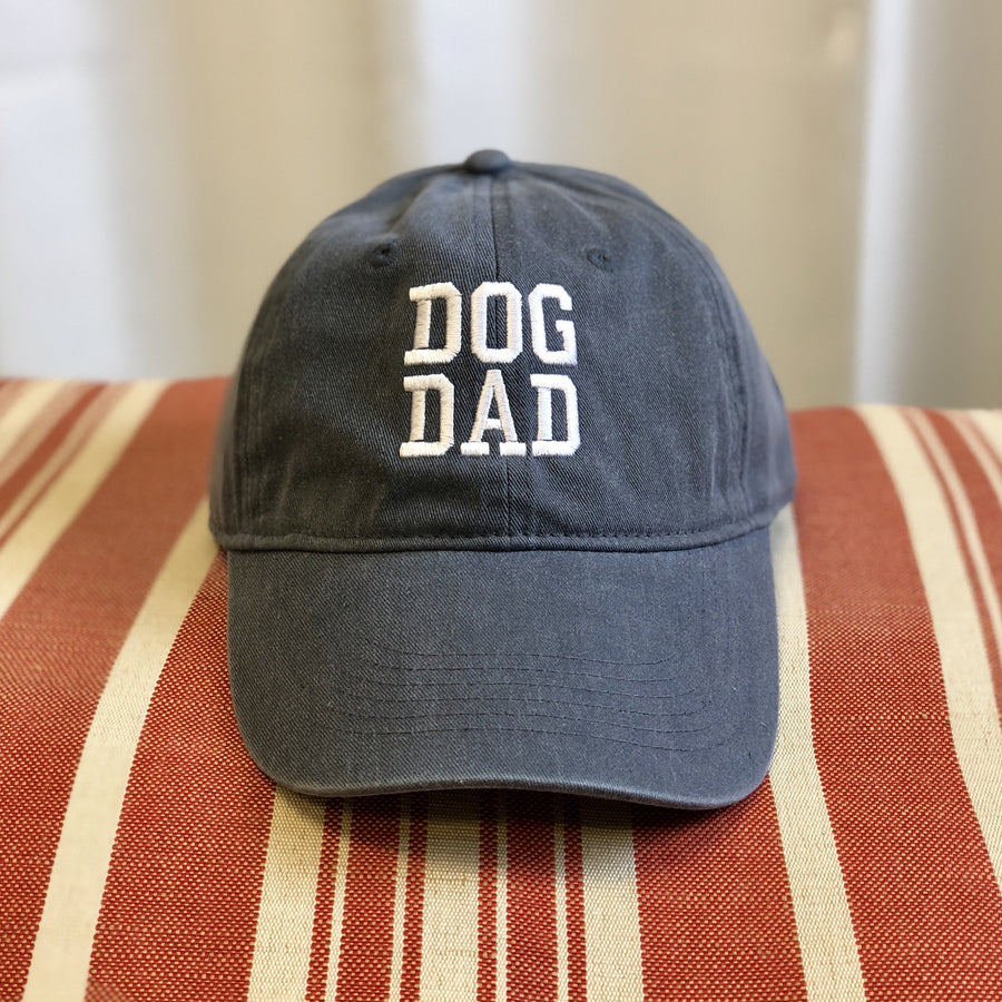 Dog Dad Canvas Baseball Hat (choice of color)