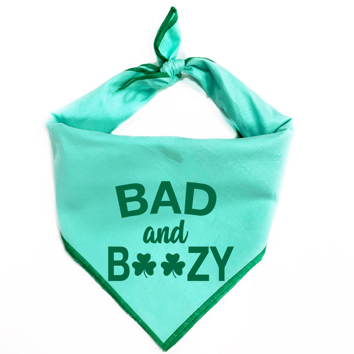 Bad and Boozy Dog Bandana