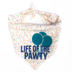 Life of the Pawty Dog Bandana