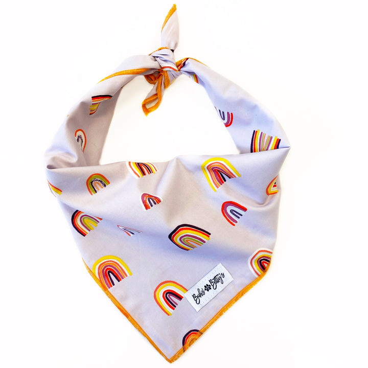Over the Rainbow Dog Bandana