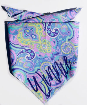 Pretty in Paisley Personalized Dog Bandana