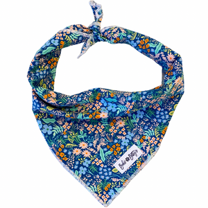 Meadow Blue Dog Bandana