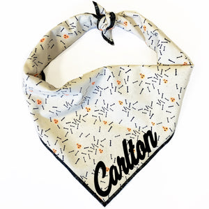 Lil' Monsters Dog Bandana