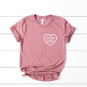 Doodle Mom Heart T-Shirt