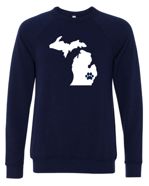 State Pawsome Crewneck Sweatshirt - customizable for all states!