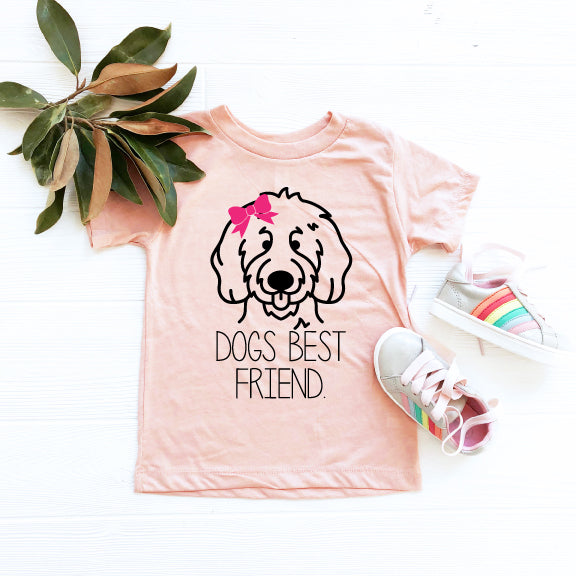 Dog's Best Friend Crewneck T-Shirt
