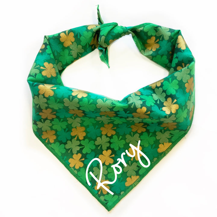 Shamrock Dog Bandana