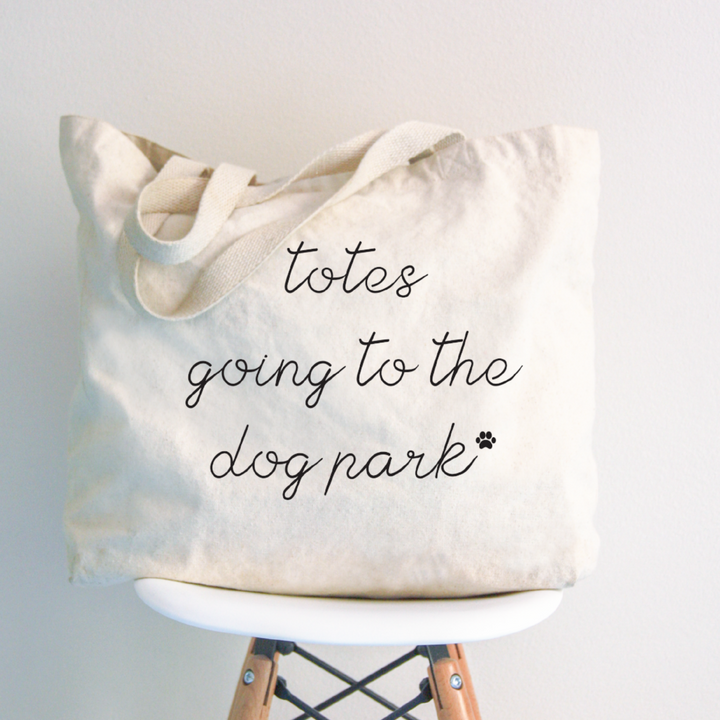 Totes Going to the Dog Park Jumbo Tote Bag