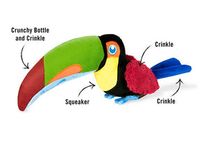 Tito the Toucan -  P.L.A.Y. Pet Lifestyle and You