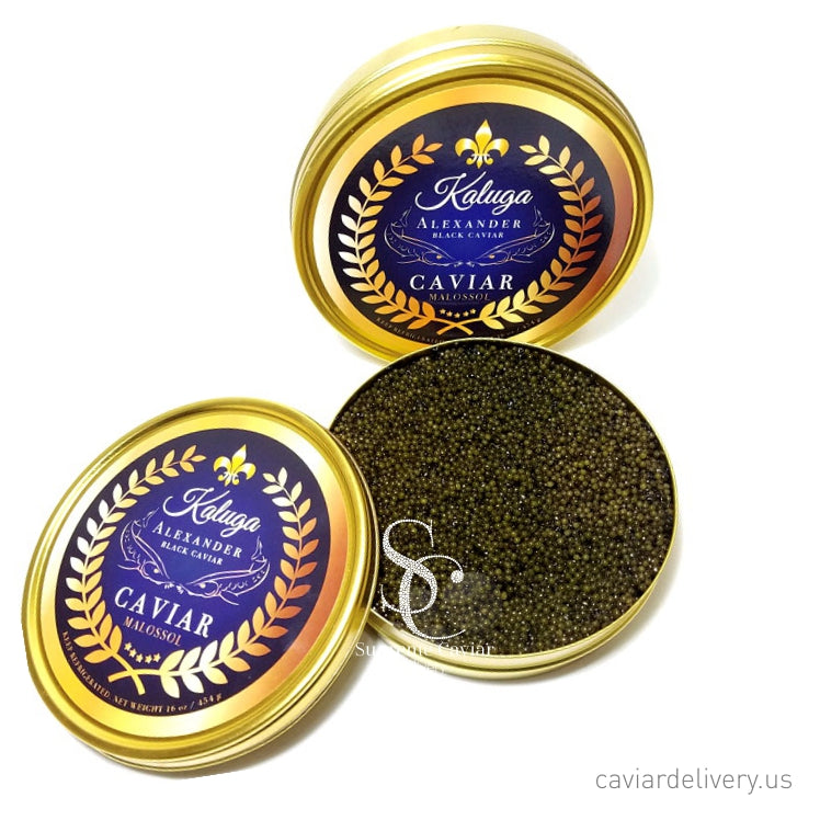 Royal Kaluga Supreme Black Caviar 8oz