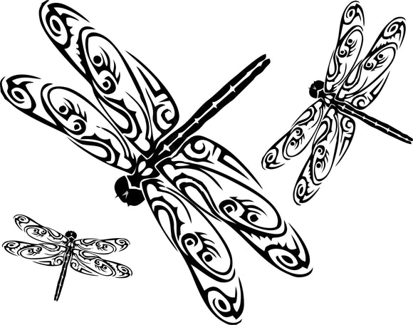 dragonflies flying bamboo custom engraved cutting board