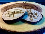 Dragonflys wood coaster
