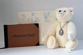 Steiff Margarete Bear with Scrapbook