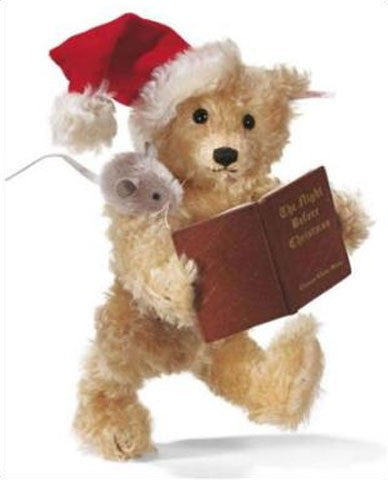 Steiff Night Before Christmas Bear 668012