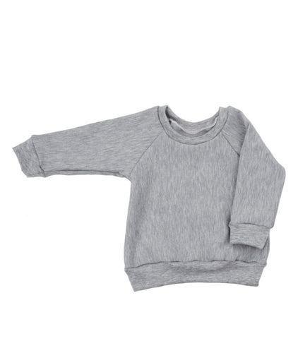 Raglan Crew Neck Jumper
