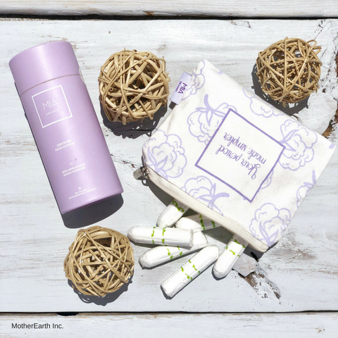 Organic Tampons - MotherEarth Inc.