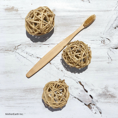 Bamboo Toothbrush - MotherEarth Inc.