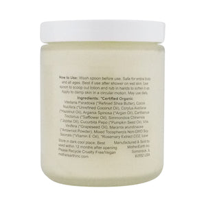 Nontoxic Body Butter | Ingredients | MotherEarth Inc.