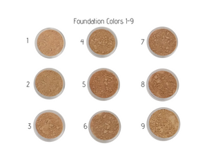 Nontoxic Mineral Makeup | Foundation 1-9 | MotherEarth Inc.