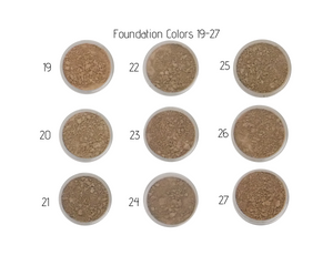 Nontoxic Mineral Makeup | Foundation 19-27 | MotherEarth Inc.