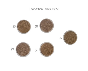 Nontoxic Mineral Makeup | Foundation 28-32 | MotherEarth Inc.