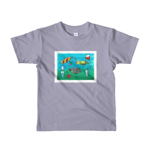 "Short sleeve kids t-shirt 'Lure Print"" Illustration from book *LIMITED EDITION PRINT NO.1"