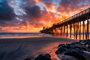 """An Oceanside Autumn"" - Oceanside Pier, Oceanside, CA"