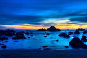 """Electric Blue"" - Crescent City, California"