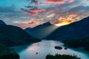 """Diablo"" - Diablo Lake in North Cascades, Washington"