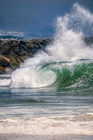 """Backdraft"" - The Wedge at Newport Beach, CA"