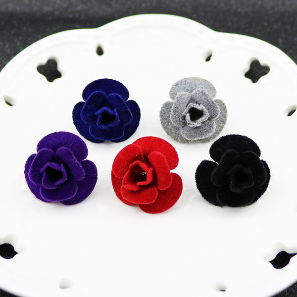 New Fashion Flower Multiple Color Broche Lapel Pin, Accessory - Blueprint Couture Store