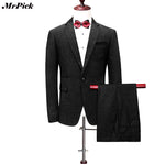 (Jacket+Pants) Men Casual Party Suit Homme, Suits - Blueprint Couture Store