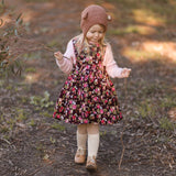 Cottage Rose Corduroy Pinafore