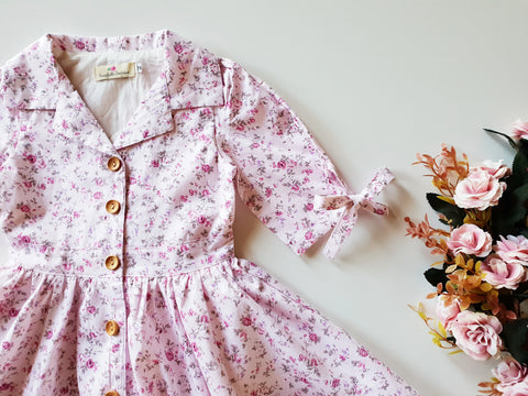 Blossom Shirt Dress