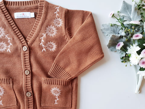 Cocoa Knitted Cardigan