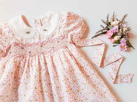 Baby's Breath Smocked Dress