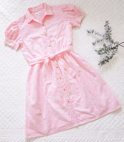Country Lane Mummy Dress ~ Pink