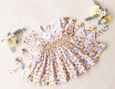 Honeycomb Smocked Dress
