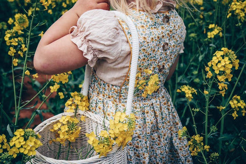 Sunflower Pinafore