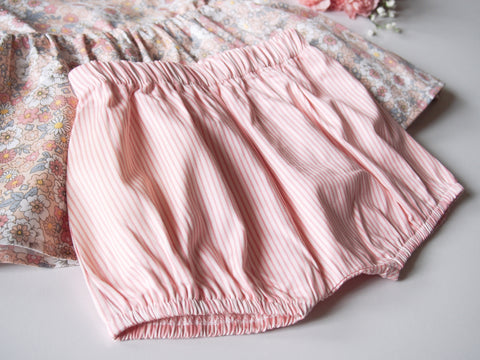 Peach Daisy Shorts