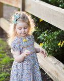 Marigold Smocked Dress