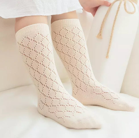 Knitted Knee-high Socks