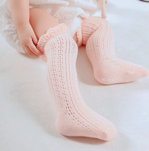 Frilly Knee-High Socks